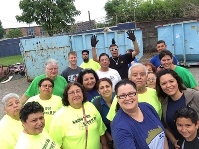 WHO neighborhood cleanup event, PRC