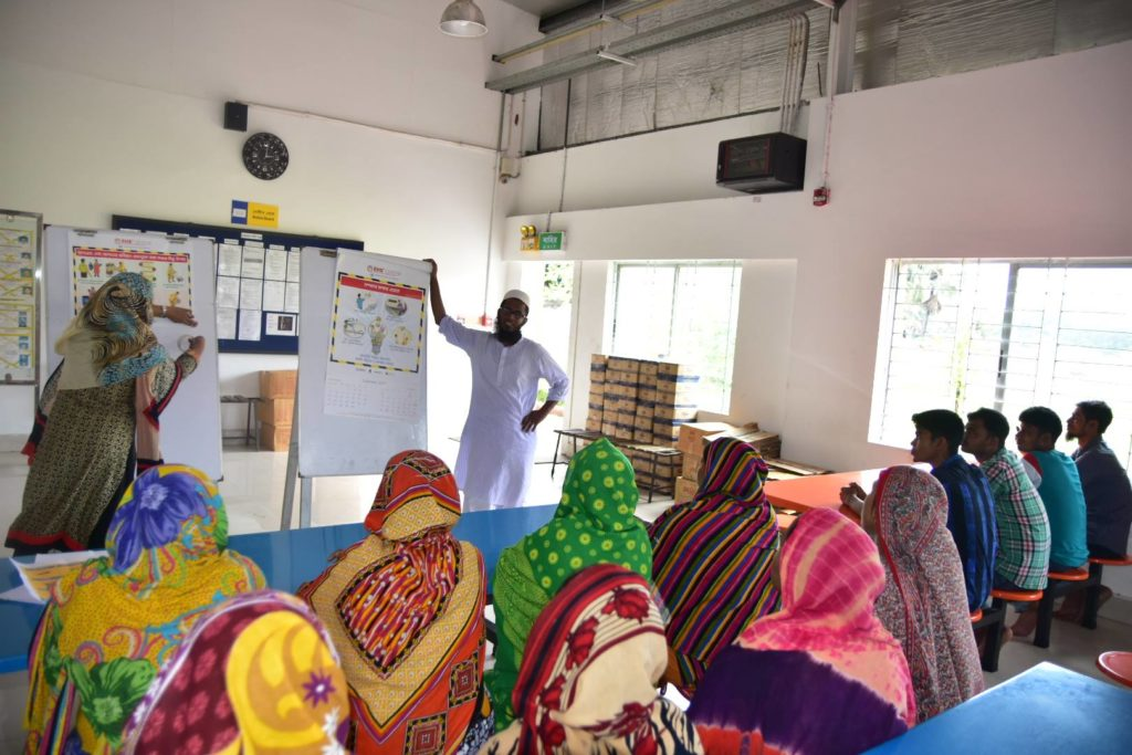 Sustainable Training: Bangladesh RMG Sector - Institute for