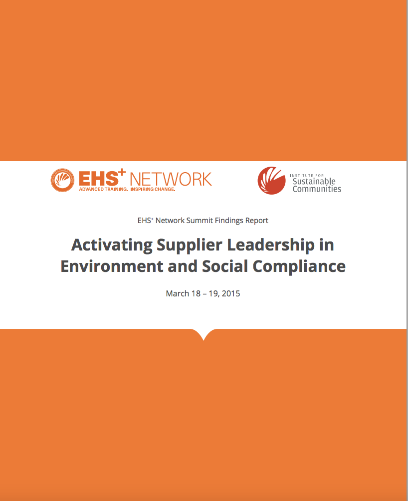 ehs summit findings report