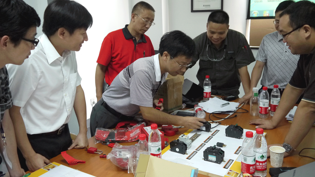 EHS training, china